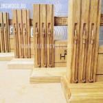 Бизнес-сувениры для НПК, деревянные АЗС ручной работы