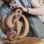 Наградная продукция из дуба в мастерской Feeling Wood
