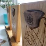 наградная продукция из дерева, деревянные кубки с гравировкой Tea masters cup