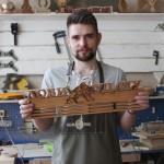 Семён Верстин арт-мастерская Feeling Wood медальницы для чемпионов