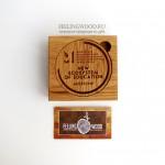 Деревянные медали с гравировкой от Feeling Wood для Московского салона образования