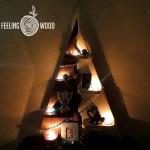 Деревянная Новогодняя елочка Feeling Wood