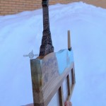 Фоторамка медальница из дерева с эпоксидной смолой от Feeling Wood на заказ Спб Москва